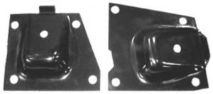 1963-64 PASS ENGINE MOUNT BRACKETS-6 CYL Photo Main