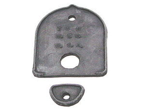 1950 TRUNK HANDLE MOUNTING PADS Photo Main