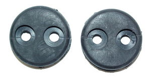 1956-57 HEAD & PARK LIGHT FENDER GROMMETS Photo Main
