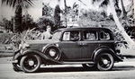 Chevrolet Parts -  1933 MASTER 4DR SEDAN SIDEVIEW B&W PHOTO