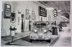 Chevrolet Parts -  1936 CAR DISPLAY IN FISHER BUILDING B&W PHOTO