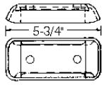 1937-46 TRANSMISSION MOUNT PLATE-REVULC