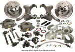 1963-70 DISC BRAKE KIT-6 LUG-DROP SPINDLE