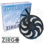 "Chevrolet Parts -  16"" ZIRGO 3630CFM ULTRA HIGH PERFORMANCE COOLING FAN"
