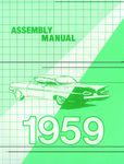 Chevrolet Parts -  1959 CAR FACTORY ASSEMBLY MANUAL