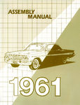 Chevrolet Parts -  1961 CAR FACTORY ASSEMBLY MANUAL