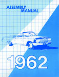 Chevrolet Parts -  1962 CAR FACTORY ASSEMBLY MANUAL