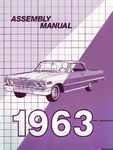Chevrolet Parts -  1963 CAR FACTORY ASSEMBLY MANUAL