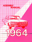 Chevrolet Parts -  1964 CAR FACTORY ASSEMBLY MANUAL