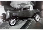 Chevrolet Parts -  1931 CABRIOLET-TOP UP B&W PHOTO