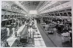 Chevrolet Parts -  1934 CAR ASSEMBLY LINE OVERVIEW B&W PHOTO