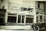 Chevrolet Parts -  HUPMOBILE DEALER IN 20'S B&W PHOTO