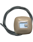 Chevrolet Parts -  1940-46 TRUCK CHOKE KNOB W/CABLE - ROSE TAN