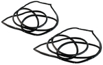 Chevrolet Parts -  1955-59PU DOOR WEATHERSTRIP - FLAT