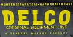 Chevrolet Parts -  DELCO BATTERY-ORIGINAL EQUIP LINE DECAL