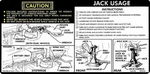 Chevrolet Parts -  1976-77 TRUCK JACK INSTRUCTIONS
