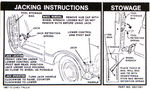 Chevrolet Parts -  1967-72 TRUCK JACKING INSTRUCTIONS