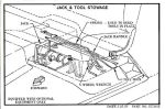 Chevrolet Parts -  1960-63 TRUCK JACK STOWAGE INSTRUCTIONS
