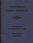 Chevrolet Parts -  1942-48 CAR/42-46 TRUCK SHOP MANUAL