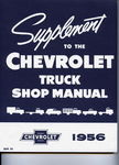 Chevrolet Parts -  1956 TRUCK SHOP MANUAL SUPPLEMENT