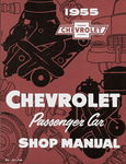 Chevrolet Parts -  1955 CAR SHOP/REPAIR MANUAL