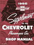 Chevrolet Parts -  1956 CAR SHOP SUPPLEMENT