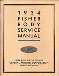 Chevrolet Parts -  1933-34 FISHER BODY MANUAL