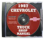 1957 TRUCK SHOP MANUAL CD - 1 VOLUME