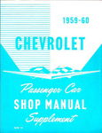 Chevrolet Parts -  1959-60 CAR SHOP SUPPLEMENT