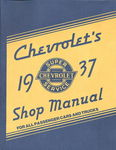 Chevrolet Parts -  1937 CAR/TRUCK SHOP MANUAL