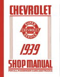 Chevrolet Parts -  1939 CAR/TRUCK SHOP MANUAL