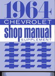 Chevrolet Parts -  1964 CAR SHOP SUPPLEMENT