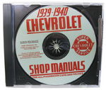 Chevrolet Parts -  1939-40 CAR & TRUCK SHOP MANUAL CD - 2 VOL.