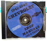 Chevrolet Parts -  1941-48 CAR & 41-46 TRK SHOP MANUAL CD - 2 VOL.