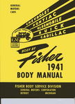 Chevrolet Parts -  1941 FISHER BODY SERVICE MANUAL