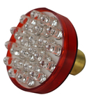 "Chevrolet Parts -  #1157 LED LIGHT BULB-1 3/4"" DIA-24 LED-RED"