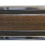 Chevrolet Parts -  69-72PU LOWER REAR CAB TRIM-WOOD-LF