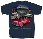 Chevrolet Parts -  1967-72 CHEVY TRUCKS T-SHIRT