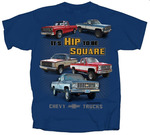 Chevrolet Parts -  1973-1987 CHEVY PICKUPS T-SHIRT