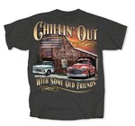 Chevrolet Parts -  CHEVY TRUCK 'CHILLIN OUT' T-SHIRT