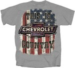 Chevrolet Parts -  CHEVROLET COUNTRY T-SHIRT