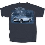 Chevrolet Parts -  CHEVY TRUCKS SINCE 1918 NAVY T-SHIRT