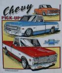 Chevrolet Parts -  1967,69,72 PICKUPS T-SHIRT