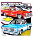 "Chevrolet Parts -  ""SILVERADO TRUCKS"" SHIRT"