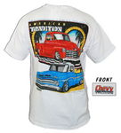 "Chevrolet Parts -  ""Y'DAYS CHEVY TRUCKS"" SHIRT-XLARGE"