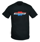 "Chevrolet Parts -  ""RED,WHITE,BLUE BOWTIE "" T-SHIRT"