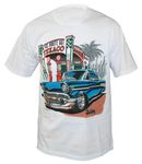 "Chevrolet Parts -  ""ROUTE 66-TEXACO"" T-SHIRT"