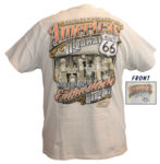 "Chevrolet Parts -  ""AMERICA'S HIGHWAY-ROUTE 66"" T-SHIRT - LARGE"