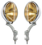 1939 ACCY FOG LIGHTS - CHROME/PAINTED - 12 VOLT