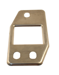 Parts -  1947-55 PU LOWER DOOR HINGE FACEPLATE - RIGHT